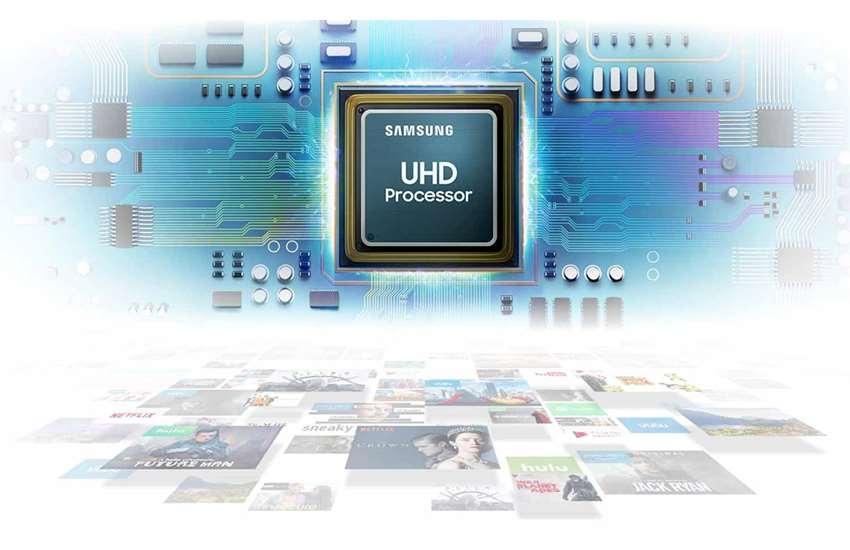 پردازنده تلویزیون سامسونگ مدل RU7100