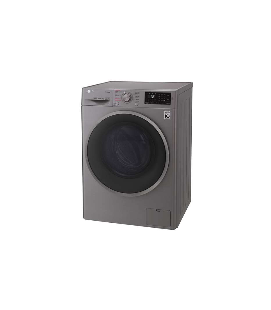 LG WASHING MACHINE F4J6VY8S SILVER